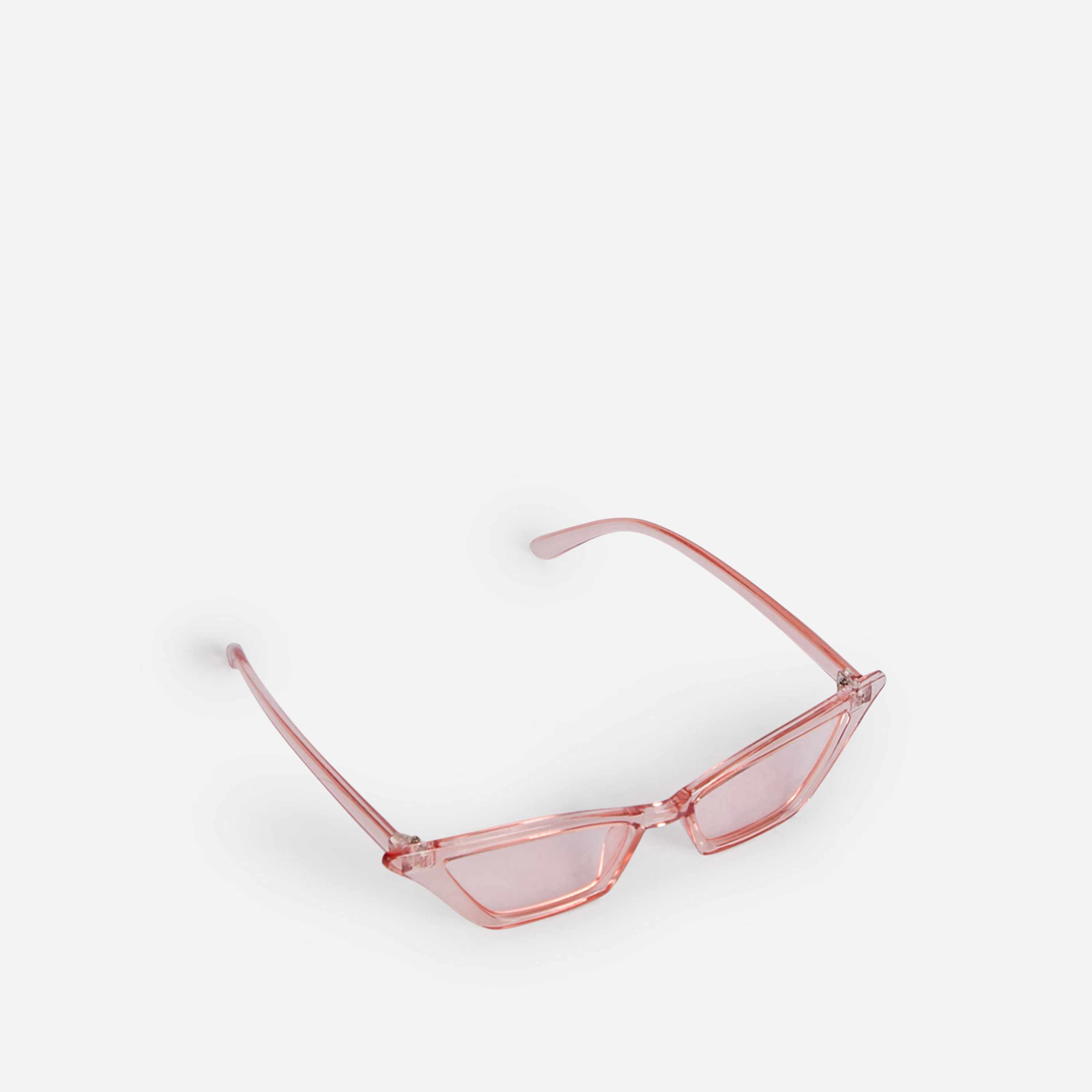 Pointed Cat Eye Sunglasses In Pink