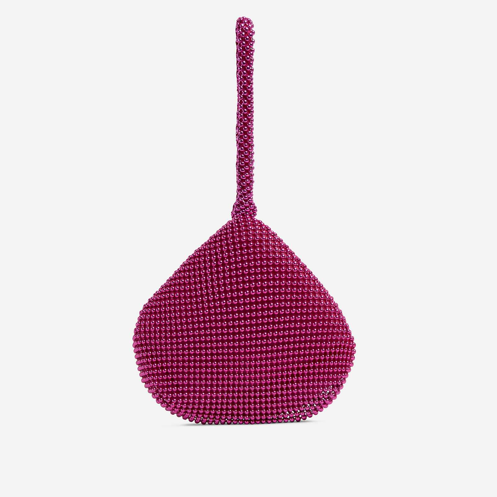 Malaga Pyramid Grab Bag In Pink Beads