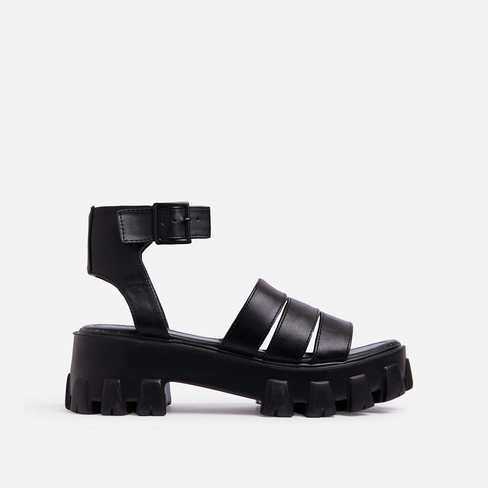 Swift Chunky Sole Flat Gladiator Sandal