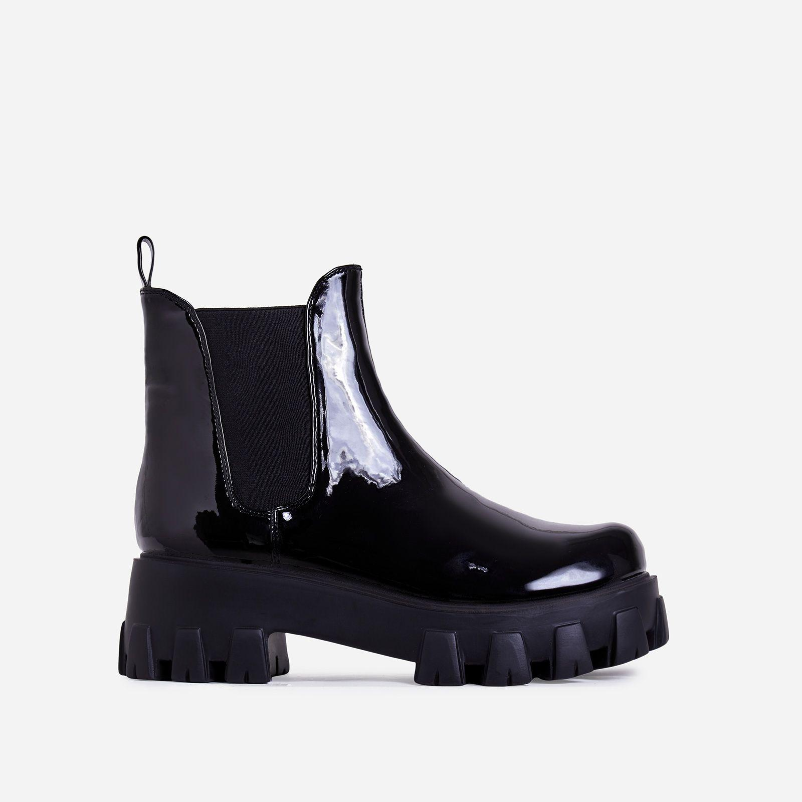 Easton Chunky Sole Ankle Chelsea Boot