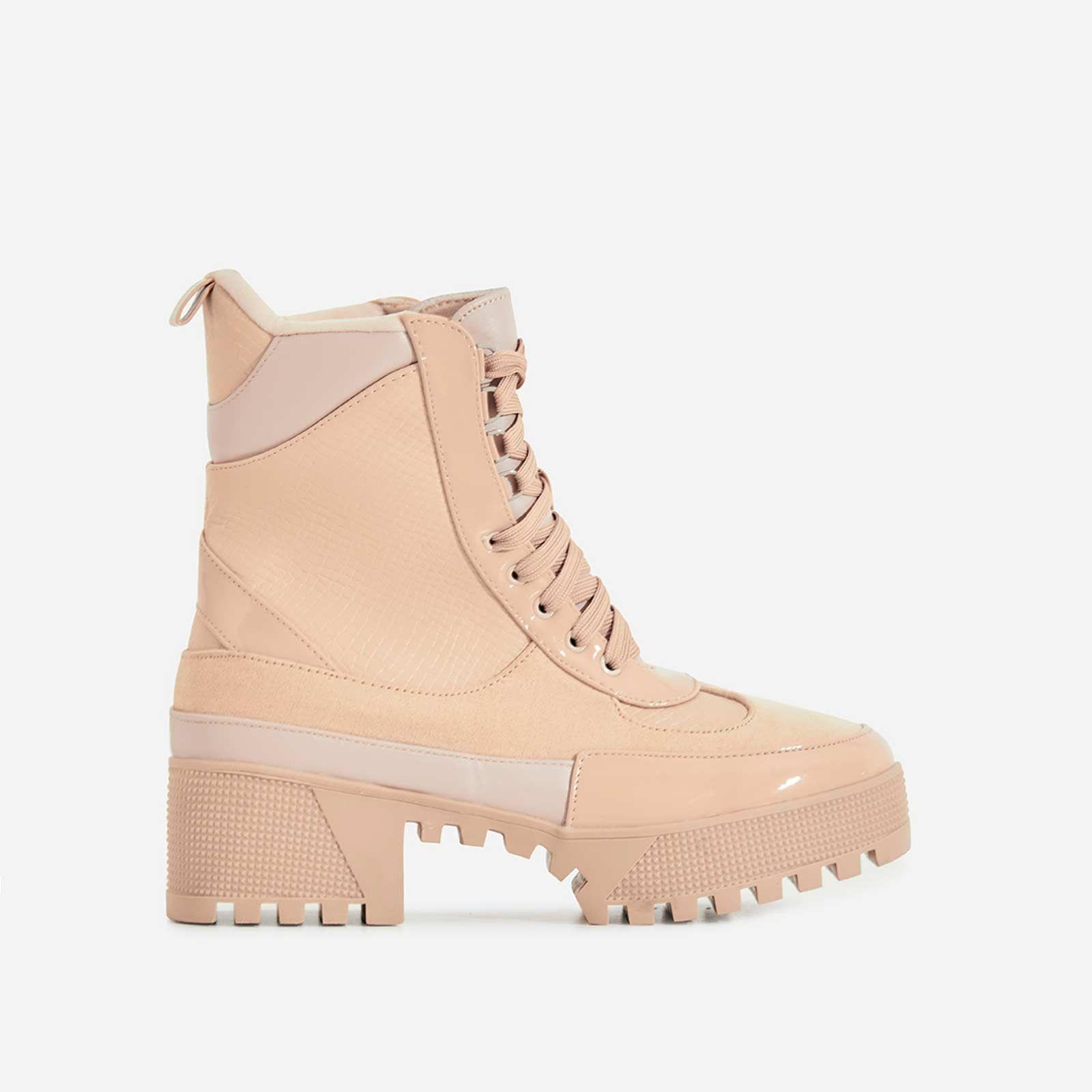 Commander Chunky Sole Lace Up Ankle