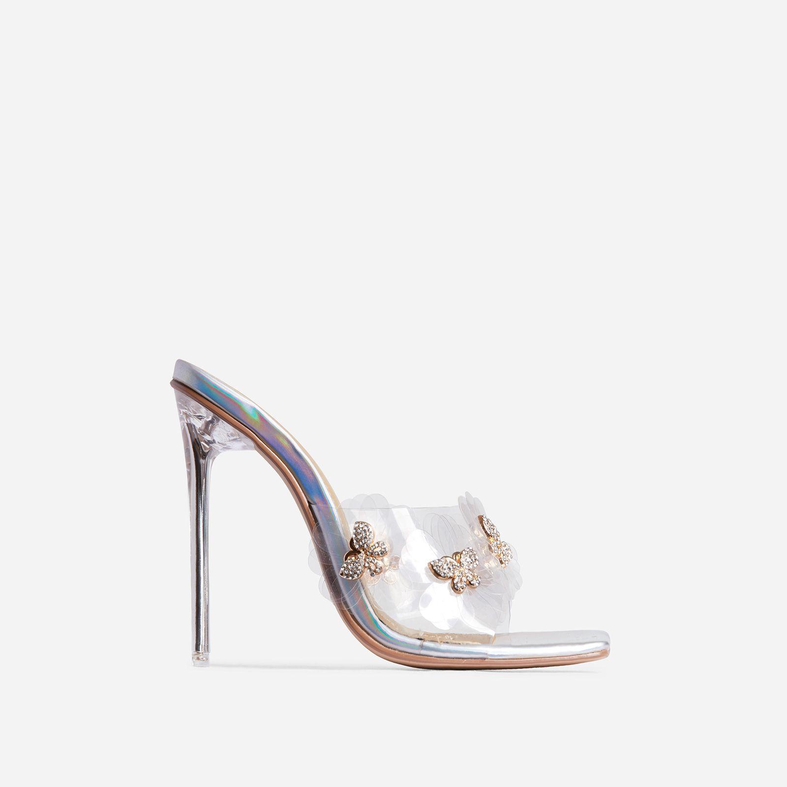 holographic heels uk