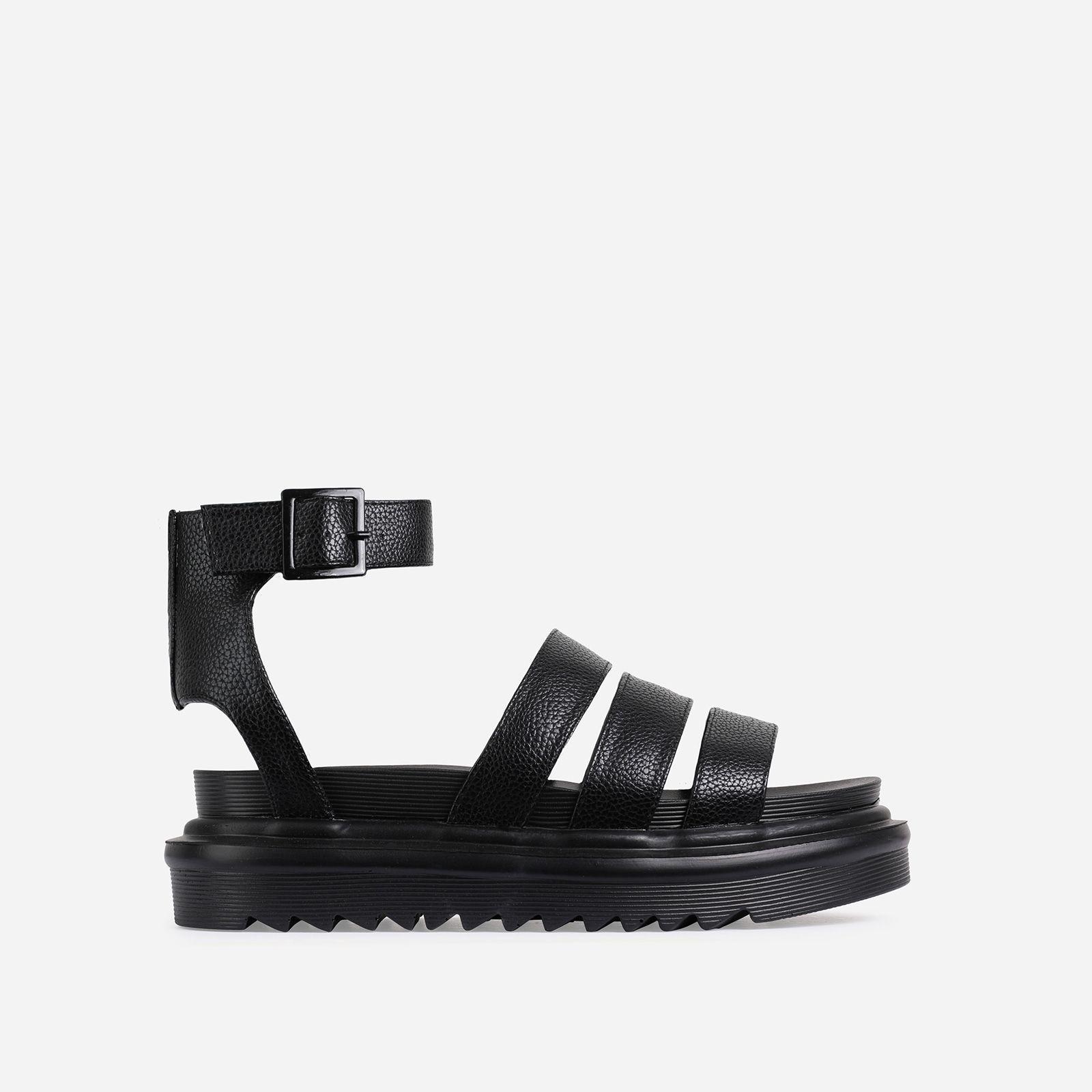 Hater Chunky Sole Flat Gladiator Sandal