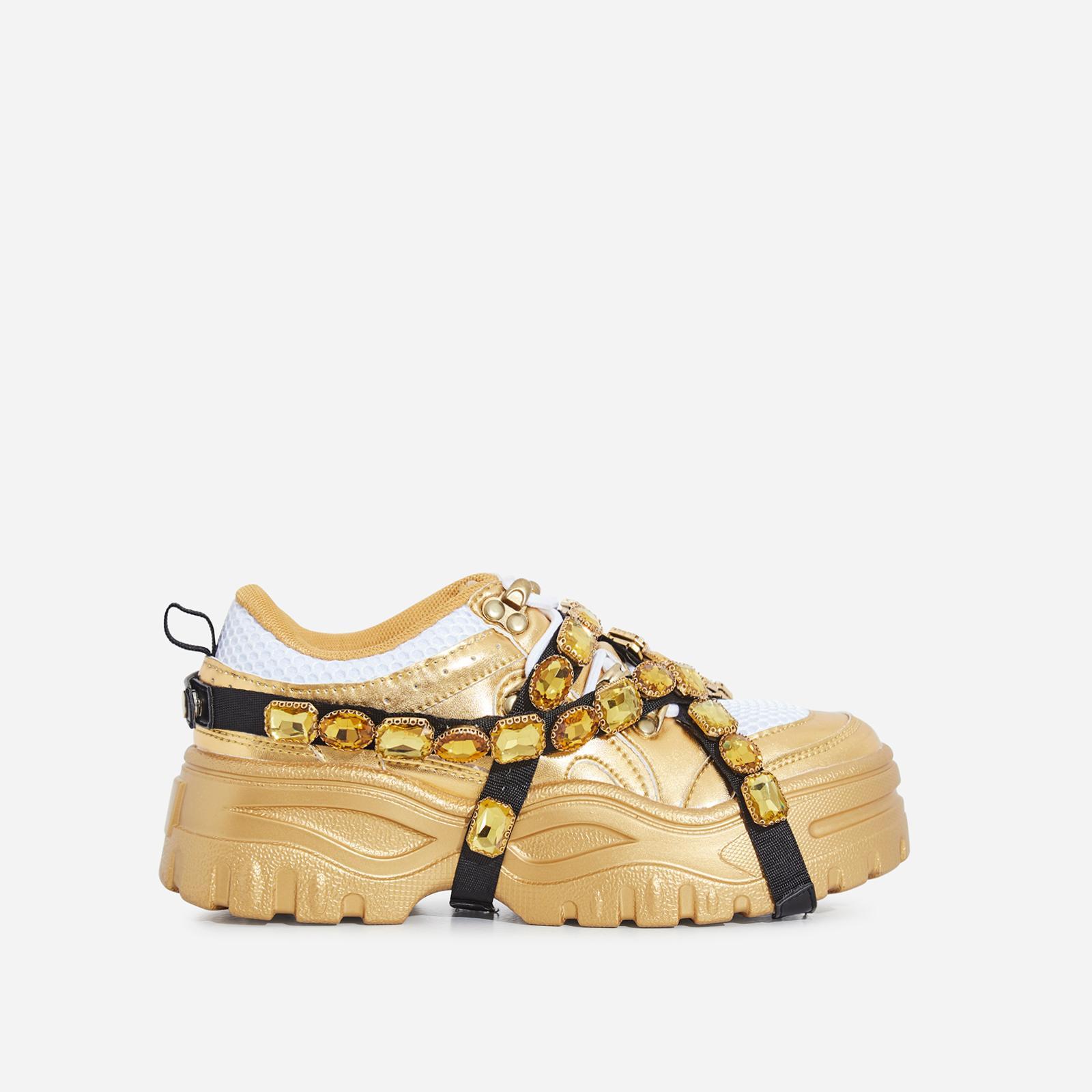 Shop Women | Gold | Chunky \u0026 Platform