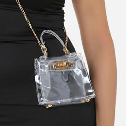 Clear Mini Cross Body Bag