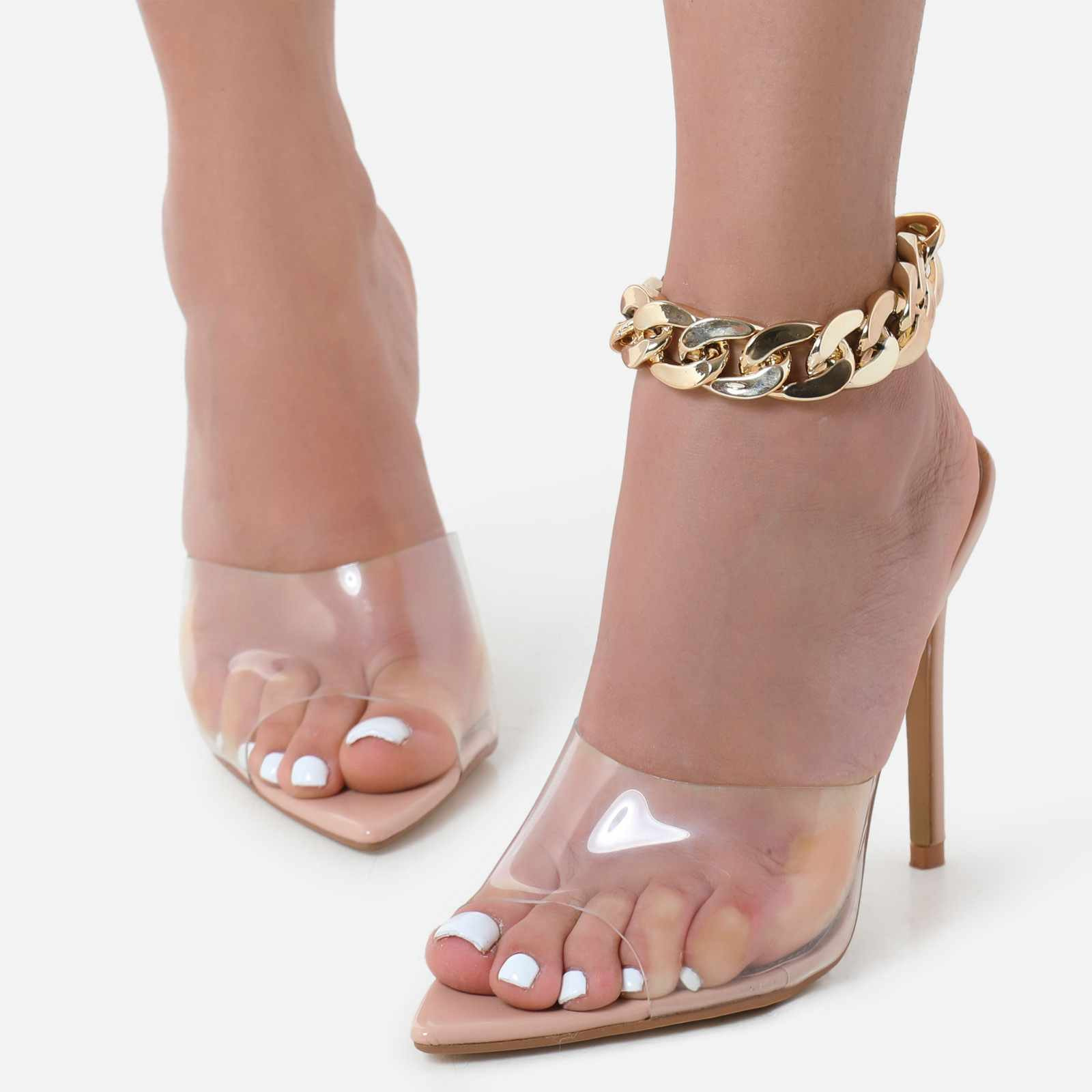 Chunky Chain Anklet In Gold