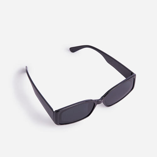 Rectangle Sunglasses In Black