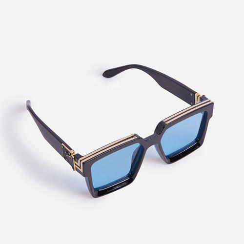 Oversized Square Sunglasses In Black