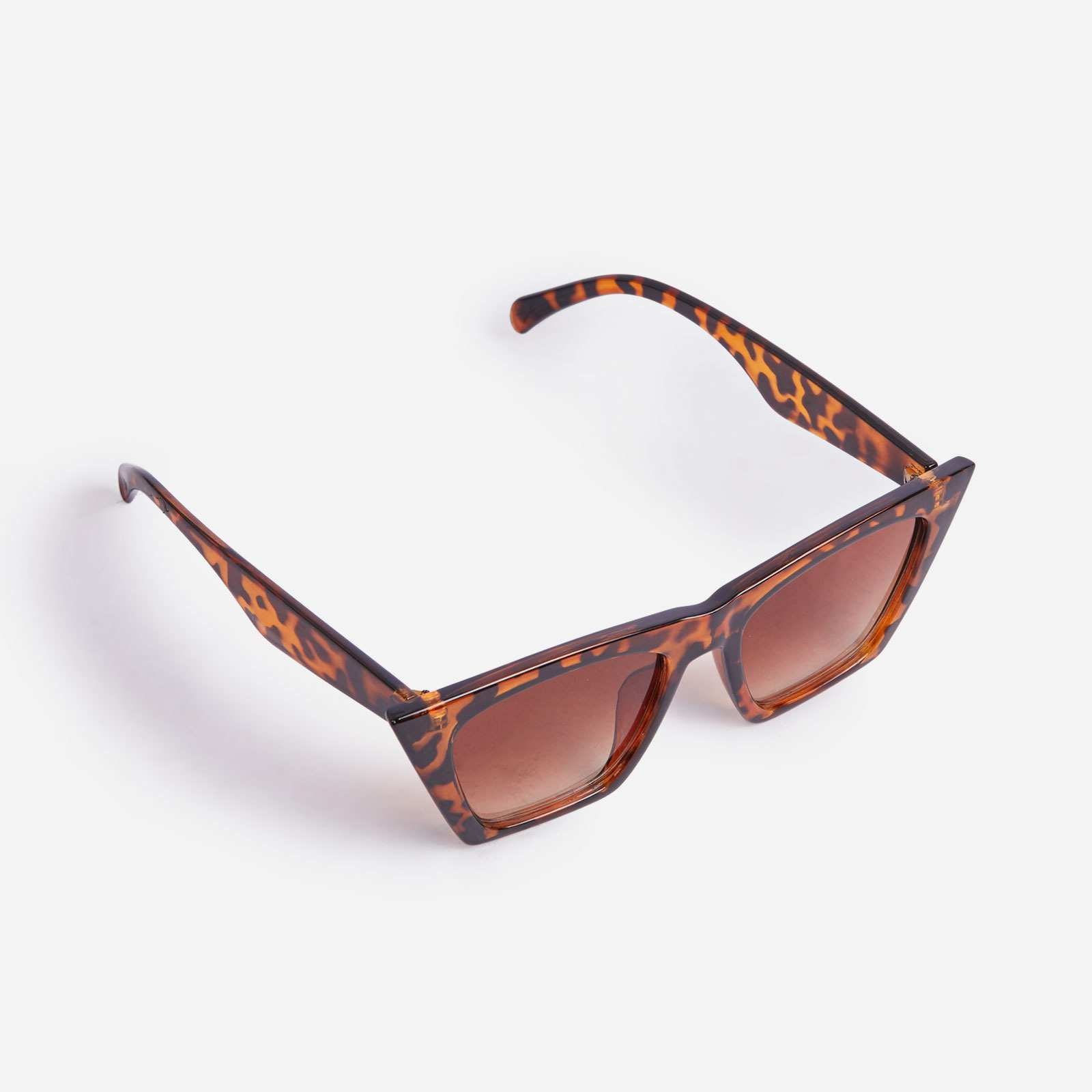 Square Sunglasses In Leopard