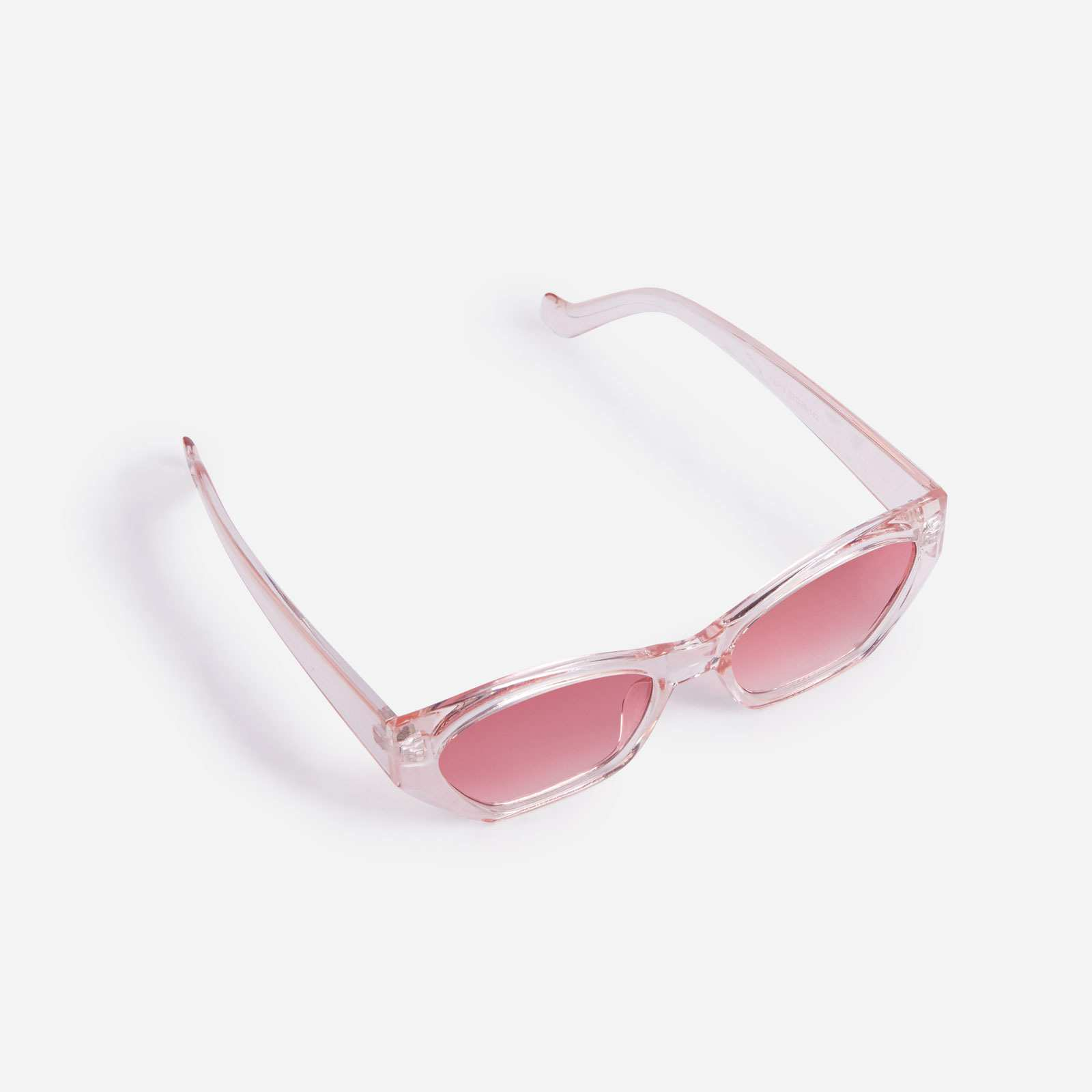 Oval Sunglasses In Pink