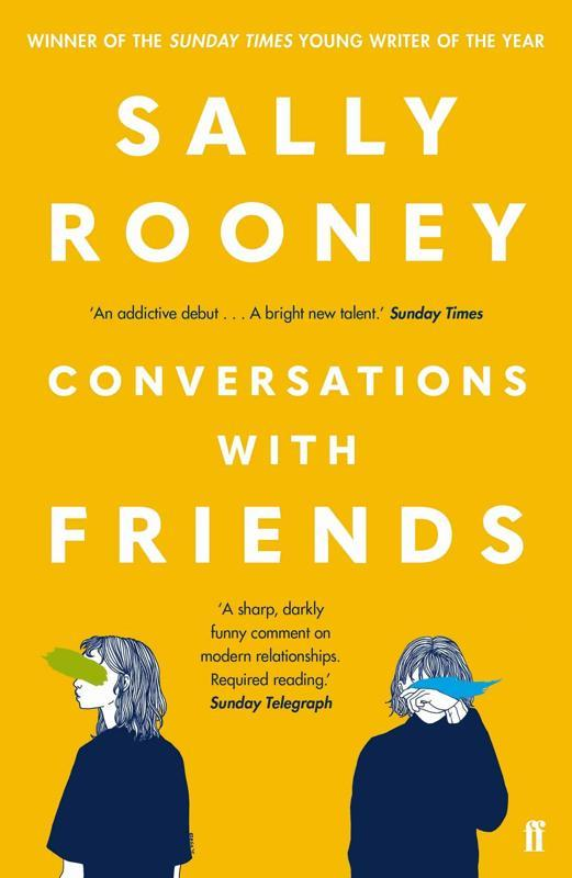 Conversations with Friends by Sally Rooney Book Cover