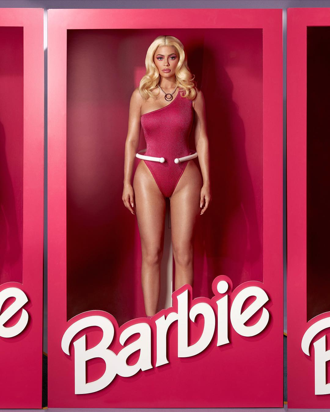 kylie jenner as barbie