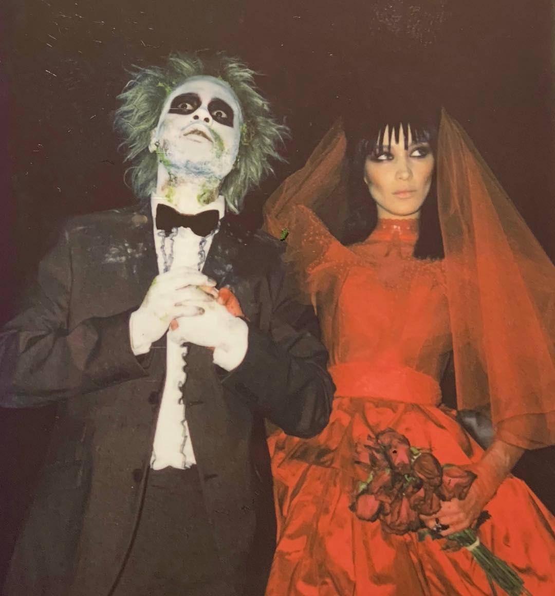 Bella Hadid & The Weeknd Halloween costume