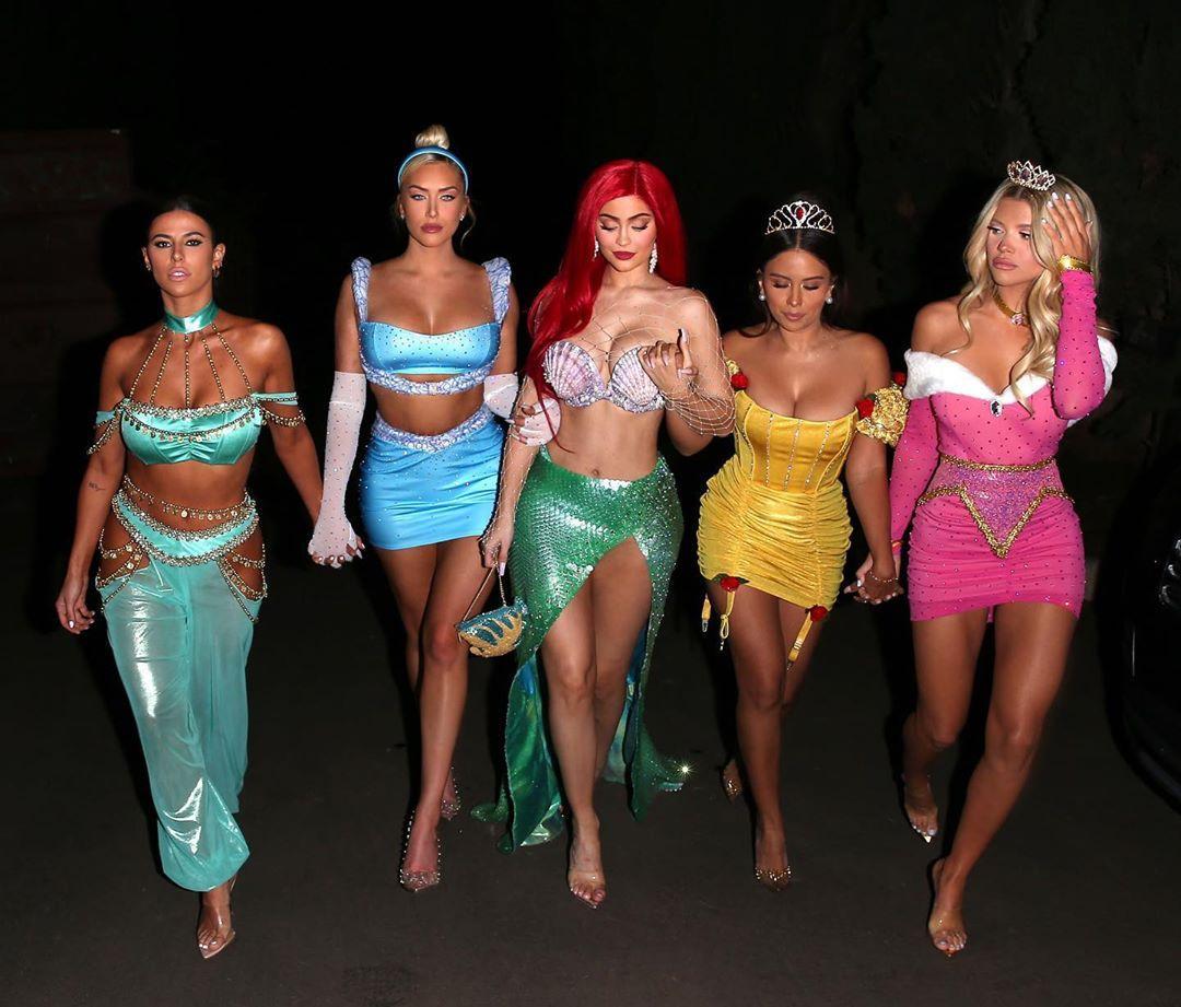 kylie girl gang halloween costume