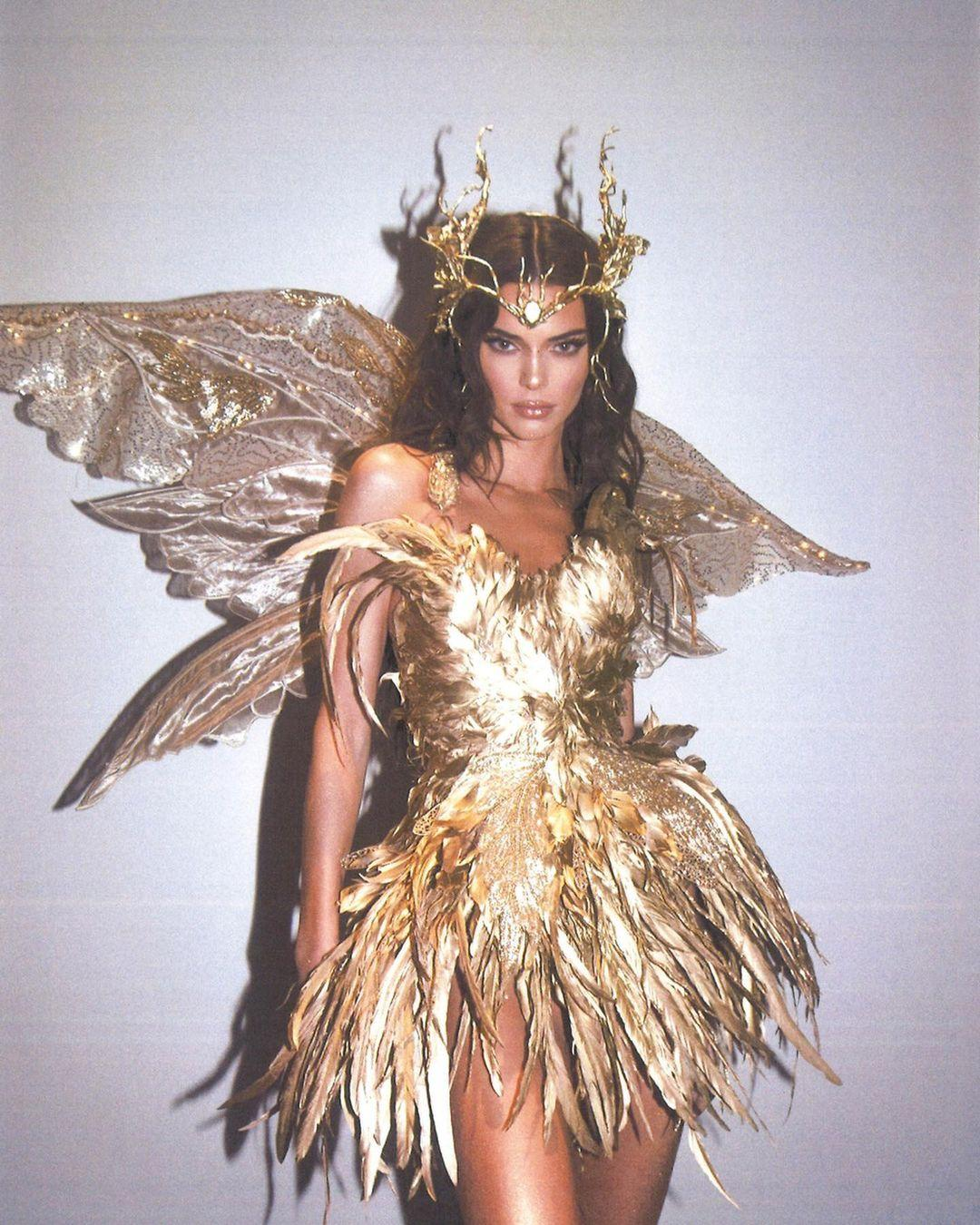Kendall as a Forest Fairy