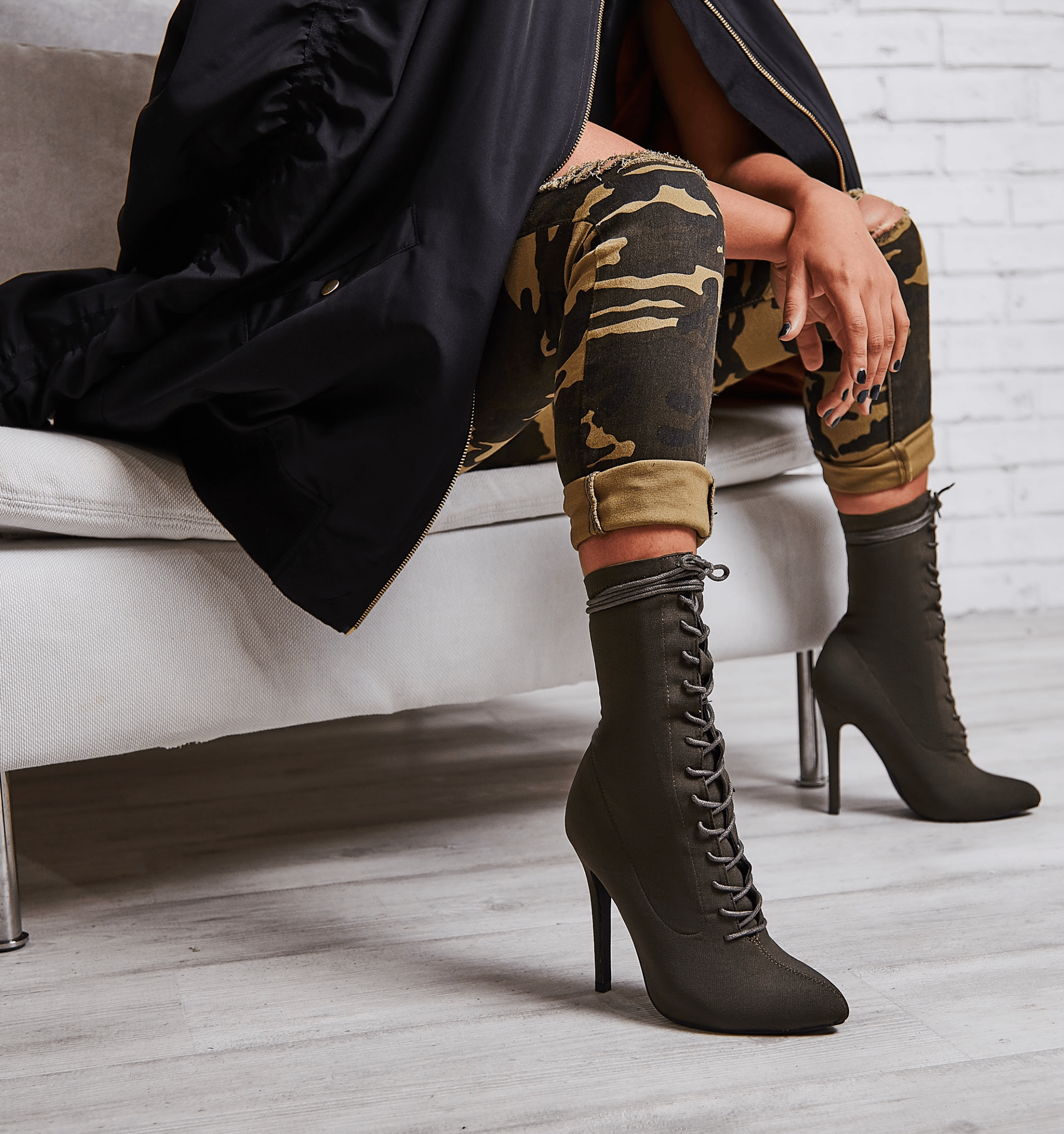 Cosmic Lace Up Ankle Boot